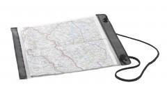 Proteção de mapa para caminhada e orientação.