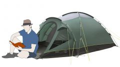 Tenda de Campismo Outwell Cloud 3