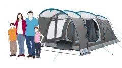 Tenda Familiar Easy Camp Palmdale 400